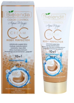 Bielenda Color Control Body Perfector водостійкий СС крем для тіла з ефектом автозасмаги