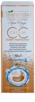 Bielenda Color Control Body Perfector Waterproof Body CC Cream with Self-Tanning Effect