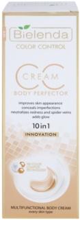 Bielenda Color Control Body Perfector CC κρέμα σώματος με λειαντικό αποτέλεσμα