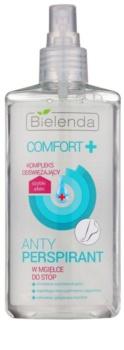 Bielenda Comfort+ antiperspirant ve spreji na nohy