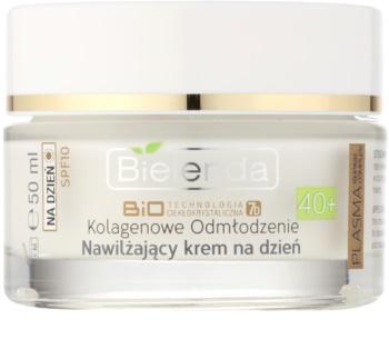 Bielenda BioTech 7D Collagen Rejuvenation 40+ crema de zi hidratanta SPF 10
