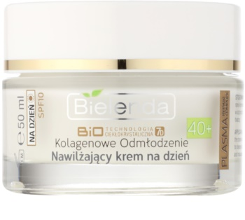 Bielenda BioTech 7D Collagen Rejuvenation 40+ зволожуючий денний крем SPF 10