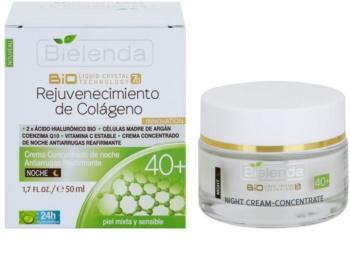 Bielenda BioTech 7D Collagen Rejuvenation 40+ Vivid Night Cream with Firming Effect