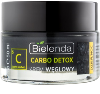 Bielenda Carbo Detox Active Carbon Moisturising Mattifying Foundation with Activated Charcoal