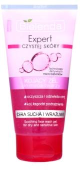 Bielenda Expert Pure Skin Soothing очищуючий гель для чутливої сухої шкіри