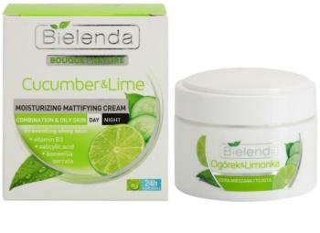 Bielenda Cucumber&Lime crema idratante opacizzante per pelli grasse e miste