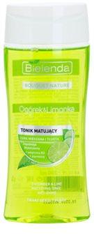 Bielenda Cucumber&Lime tónico matificante para pele oleosa