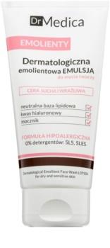 Bielenda Dr Medica Emollients emulsão de limpeza para pele seca a sensível