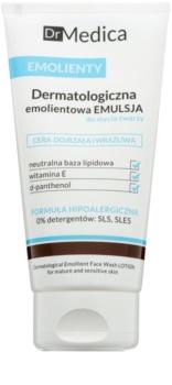 Bielenda Dr Medica Emollients emulsione dermatologica umidicante per la pulizia del viso per pelli mature e sensibili