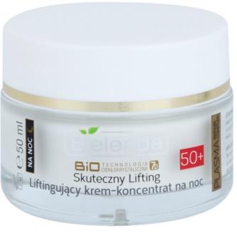 Bielenda BioTech 7D Effective Lifting 50+ Crema de noapte activă cu efect antirid