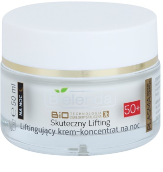 Bielenda BioTech 7D Effective Lifting 50+ нічний активний крем проти розтяжок та зморшок