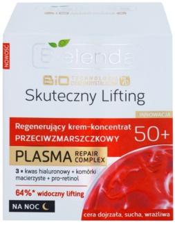 Bielenda BioTech 7D Effective Lifting 50+ Aktivcreme für die Nacht mit Antifalten-Effekt