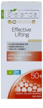Bielenda Effective Lifting crema antirughe contorno occhi con effetto lifting