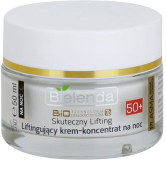 Bielenda Effective Lifting crema notte rigenerante antirughe
