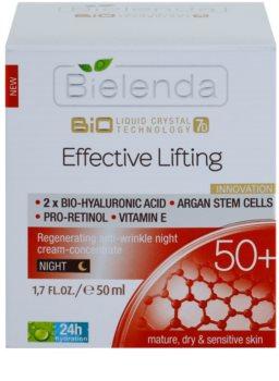 Bielenda Effective Lifting regenerirajuća noćna krema protiv bora