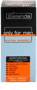 Bielenda Only for Men Extra Energy intensive, hydratisierende Creme gegen die Anzeichen von Müdigkeit