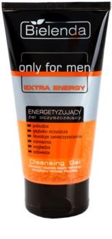 Bielenda Only for Men Extra Energy gel facial de limpeza para pele cansada