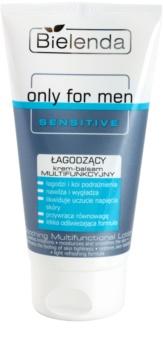 Bielenda Only for Men Sensitive baume apaisant multifonctionnel  pour peaux sensibles et irritées