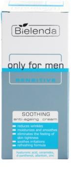 Bielenda Only for Men Sensitive umirujuća krema  protiv bora