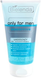 Bielenda Only for Men Sensitive gel za čišćenje za osjetljivu i nadraženu kožu lica