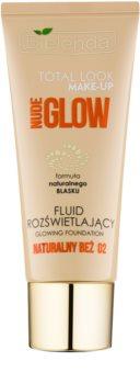 Bielenda Total Look Make-up Nude Glow Verhelderende Make-up Fluid