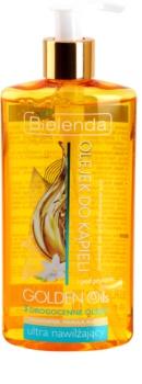 Bielenda Golden Oils Ultra Hydration olejek pod prysznic i do kąpieli o dzłałaniu nawilżającym