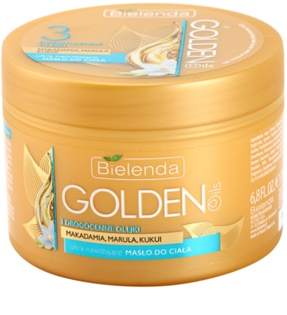 Bielenda Golden Oils Ultra Hydration intensive Körperbutter mit feuchtigkeitsspendender Wirkung