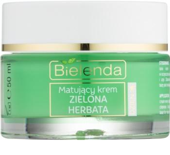 Bielenda Green Tea mattierende Tagescreme für Mischhaut