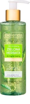 Bielenda Green Tea gel micelar de limpeza para pele oleosa e mista