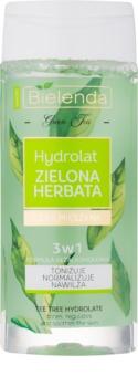 Bielenda Green Tea lotion tonique hydratante pour peaux grasses et mixtes