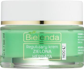 Bielenda Green Tea crème de nuit normalisante pour peaux mixtes