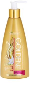 Bielenda Golden Oils Ultra Nourishing intenzivní tělové mléko pro suchou pokožku