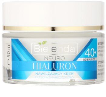 Bielenda Neuro Hyaluron konzentrierte feuchtigkeitsspendende Creme  mit glättender Wirkung