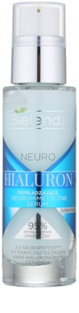 Bielenda Neuro Hyaluron verjüngerndes Anti-Aging Serum mit glättender Wirkung