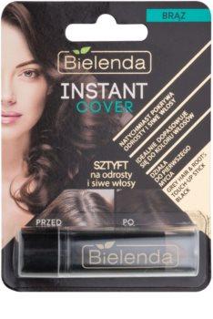 Bielenda Instant Cover corretor capilar de cabelo grisalho e sem tom