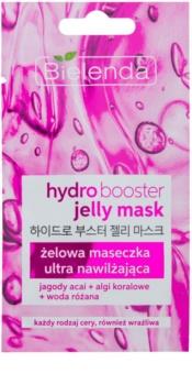 Bielenda Jelly Mask Hydro Booster Ultra Feuchtigkeit spendende Gelmaske für das Gesicht