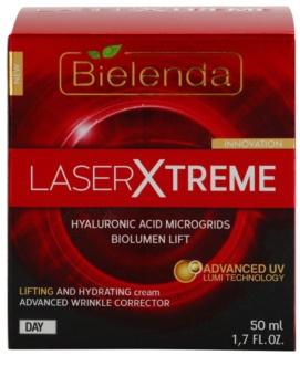 Bielenda Laser Xtreme creme de dia hidratante com efeito lifting