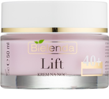 Bielenda Lift Anti-Rimpel Nachtcrème  met Glad makende Effect