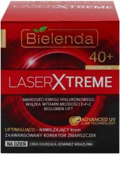 Bielenda Laser Xtreme 40+ hidratantna dnevna krema s lifting učinkom s lifting učinkom