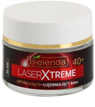 Bielenda Laser Xtreme 40+ нічний крем-ліфтінг