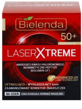 Bielenda Laser Xtreme 50+ glättende Tagescreme mit Lifting-Effekt