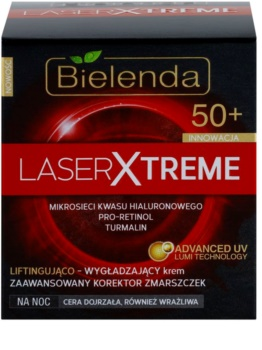 Bielenda Laser Xtreme 50+ Smoothing Night Cream With Lifting Effect
