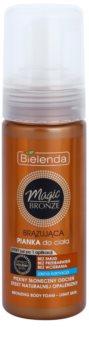 Bielenda Magic Bronze mousse pentru bronz pentru piele deschisa