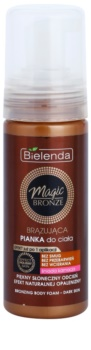 Bielenda Magic Bronze Bronzing Body Foam for Dark Skin