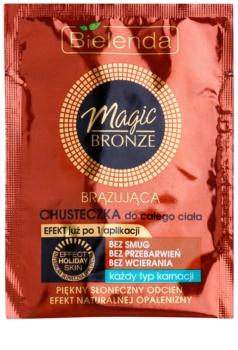 Bielenda Magic Bronze μαντηλάκι αυτομαυρίσματος για όλους τους τύπους δέρματος