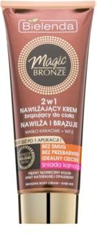 Bielenda Magic Bronze Self-Tanning Cream for Dark Skin With Moisturizing Effect