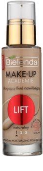 Bielenda Make-Up Academie Lift fond de teint hydratant pour raffermir la peau