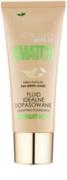 Bielenda Total Look Make-up Nude Match fluidní make-up pro sjednocení barevného tónu pleti