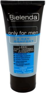Bielenda Only for Men 3-Day Comfort crema idratante leggera per lenire la pelle
