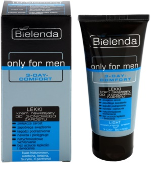 Bielenda Only for Men 3-Day Comfort crema idratante leggera per lenire la pelle